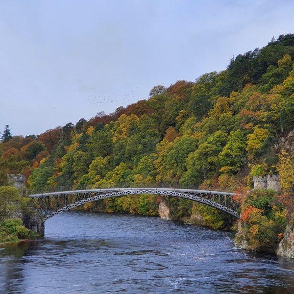 River Spey Craigellachie Bridge, Spey Valley